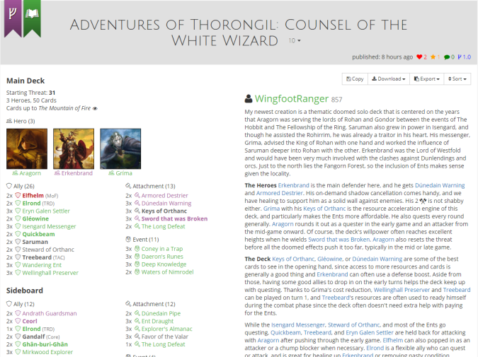 adventures of Thorongil list.PNG