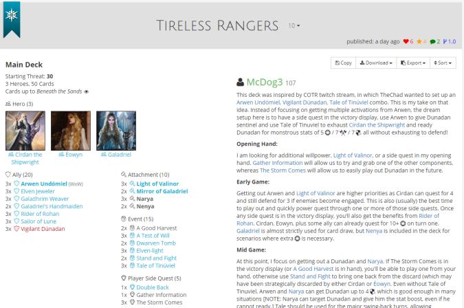Tireless Rangers list.PNG
