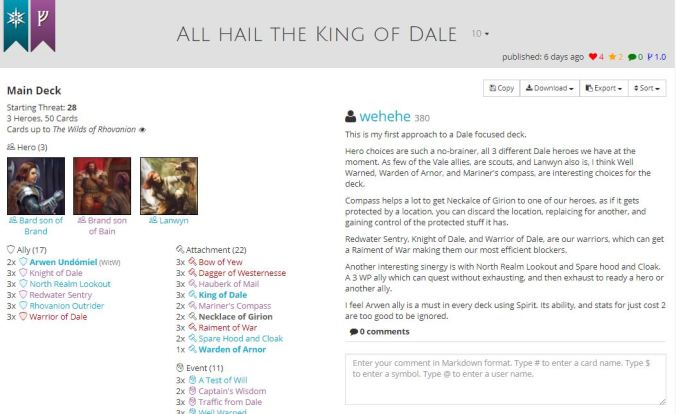 all hail king of dale list.JPG
