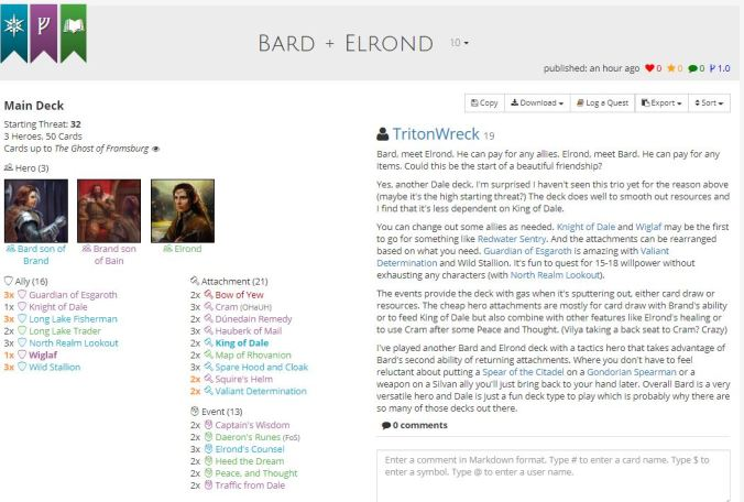 bard and elrond list