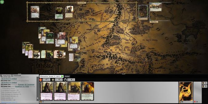 escape from umber loss dunedain